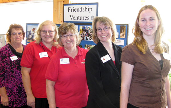 Friendship Ventures Luncheon hosted by Minnesota Women of Today at Edenwood Center on October 12, 2010.